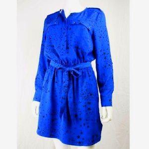 Banana Republic Star Dress Blue Size 12